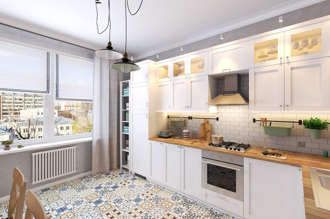 "Kitchen IKEA, model ""Sevidal"""