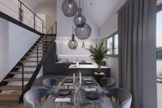 Penthouse 150 m²