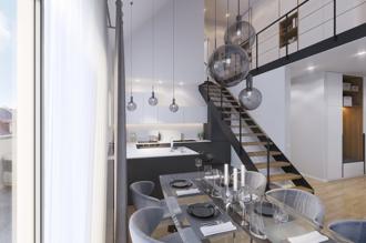 Penthouse 109 m²